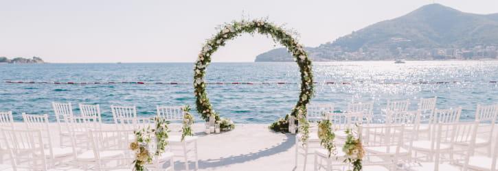 Chauffeur mariage Cannes ceremonie prive